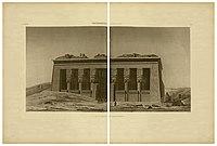 Description of Egypt. 2nd edition. 1822. Vol. 4. Pl. 07 (Old facade of Hathor temple).jpg