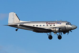 Aircraft livery - A Douglas DC-3 in a bare metal