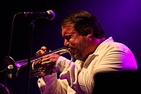 Deutsches Jazzfestival 2013 - Pharoah and the Underground - Rob Mazurek - 05.JPG