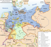 Map of the Weimar Republic