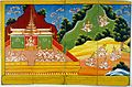 Devas announce the coming of a Buddha. Wellcome L0030751.jpg