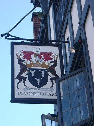 Devonshire Arms - Image: Devonsh Arms