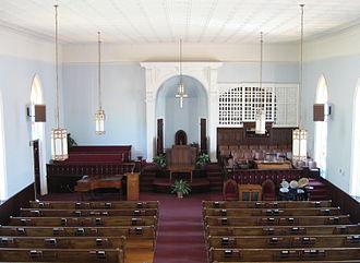 Dexter Avenue Baptist Church - Image: Dexter Avenue Baptist Church Interior