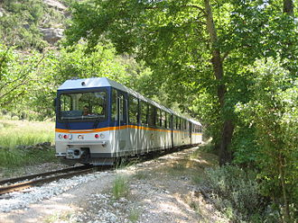 Diakofto–Kalavryta Railway - Diakofto-Kalavryta railway