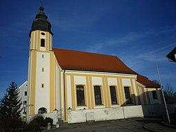 Die Kirche Sankt Nikolaus in Nassenfels