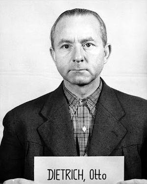Otto Dietrich - Image: Dietrich, Otto Obergruppenführer mugshot