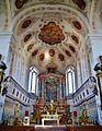Dillingen Basilika St. Peter Innen Chor 5.jpg