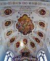 Dillingen Basilika St. Peter Innen Chorgewölbe 1.jpg