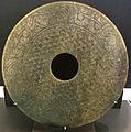 Dinastia han anteriore, disco di giada, II sec. ac. ca..JPG