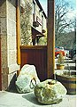 Dinnie Stanes, Potarch Hotel. - geograph.org.uk - 110060.jpg