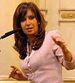 Discurso de Cristina Fernández el 25 de marzo 2008.jpg