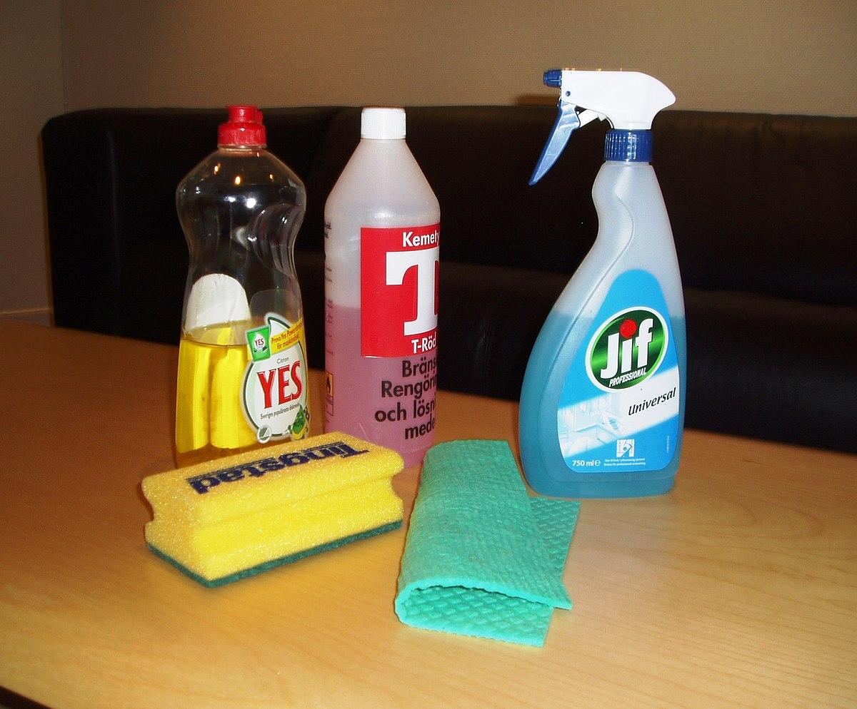 Reinigungsmittel – Wikipedia