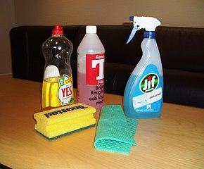 Alcuni detergenti