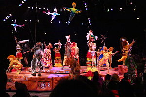 Festival of the Lion King - Image: Disney Animal Kingdom Lion King 8464