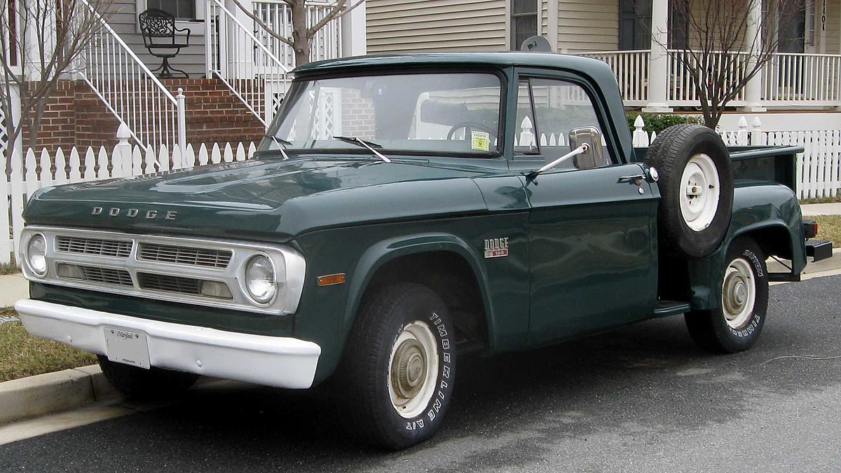 Dodge D Series Wikipedia