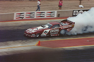 Don Prudhomme - Image: Don Prudhomme 1990Funny Car