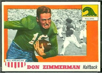 History of Tulane Green Wave football - Don Zimmerman