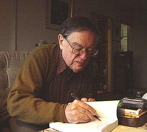 Donald Keene - Donald Keene in his Tokyo home in 2002.