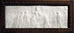 DONATELLO - One of the finest surviving examples of Donatello's work in rilievo schiacciato
