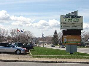 Donnacona, Quebec - Image: Donnacona 2