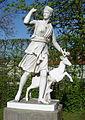 Donndorf - Fantaisie Schlosspark - Gartenskulptur-Diana (15.04.2007).jpg
