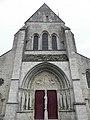 Donnemarie-Dontilly (77) Église N.D. Portail occidental 01.JPG