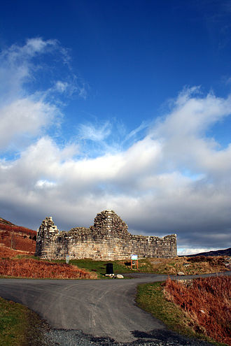 Loch Doon Castle - The relocated Doon Castle.