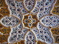 Doorway's ceiling, Zsolnay ceramic decoration - Museum of Applied Arts, Budapest.jpg