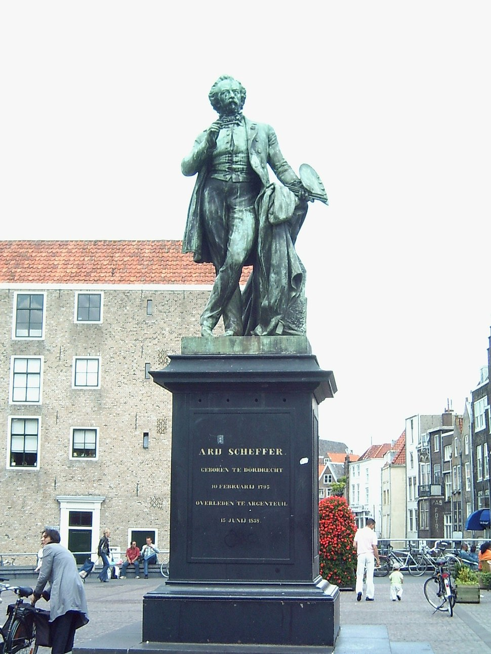 Dordrecht beeld Scheffer2-1