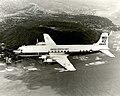 Douglas VC-118B off Honululu.jpg