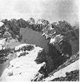 Dovški Križ — Amfiteater — Široka Peč s Kukove špice 1940.jpg