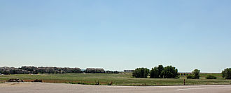 Dove Valley, Colorado - A view of Dove Valley looking southeast from Potomac Street near the courthouse.