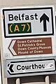 Downpatrick signs (07), August 2009.JPG