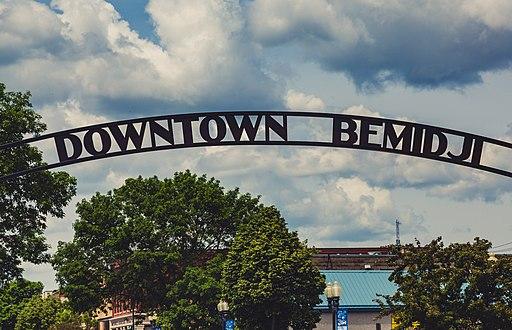 Downtown Bemidji, Minnesota Sign (34378081514)