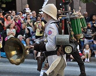 Festivals in Atlanta - Dragon Con parade