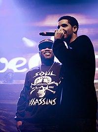 04c11a3ea578 Drake performing alongside Bun B in 2011.