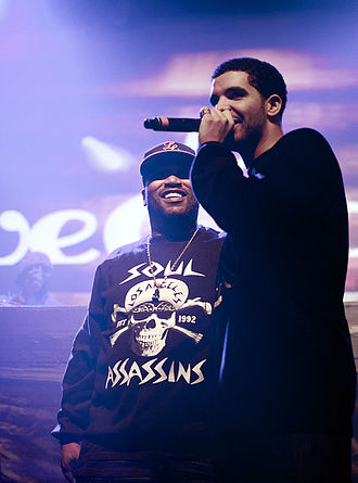 Drake (musician) - Drake performing alongside Bun B in 2011.