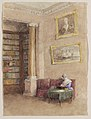 Drawing, Library, possibly 1850s (CH 18708253).jpg