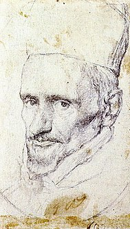 Drawing for portrait of cardenal Borja, by Diego Velázquez.jpg