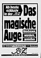 Drei Monate lang druckte die Berliner BZ auf der letzten Seite ein »magisches« Motiv ab.jpg