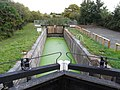 Droitwich Barge Canal, lock No. 6 - geograph.org.uk - 1528641.jpg
