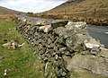 Dry stone wall by the Moyad Road - geograph.org.uk - 1209080.jpg