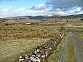 Drystone Wall, Fence and Road - geograph.org.uk - 746775.jpg