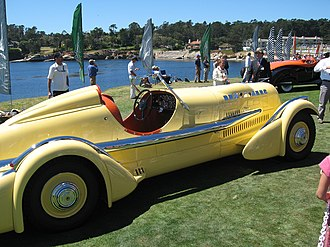 Ab Jenkins - The Mormon Meteor, at the 2007   Pebble Beach Concours d'Elegance