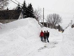 Duluth blizzard, December 2007