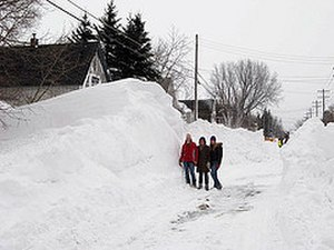 Blizzard - Duluth, Minnesota blizzard, March 2007