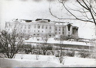Hafizullah Amin - The Tajbeg Palace on December 27, 1979, where Amin was killed