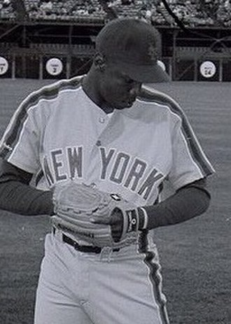 Dwight Gooden - Gooden with the Mets