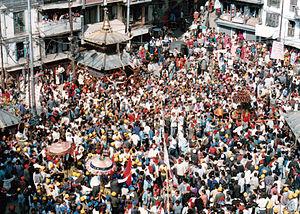 Pahan Charhe - Dyah Lwakegu festival at Asan.