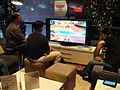 E3 2011 - playing Cars 2 in the Disney living room (5822121673).jpg